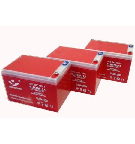 Baterias 12v 12Ah Compatibles con patinetes 500W y 800, 1000, 18