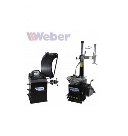 Tandem Equilibradora Desmontadora coche Weber