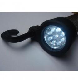 Lámpara linterna portátil 60+9 leds recargable 220 V