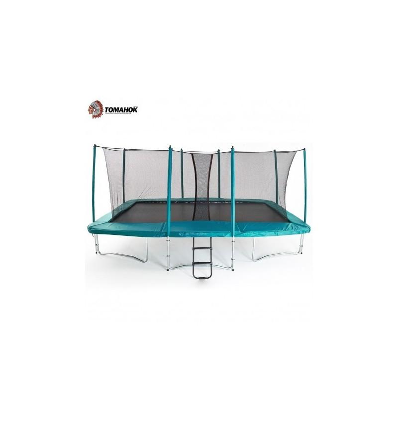 Cama Elastica rectangular profesional Tomahok 4,6M