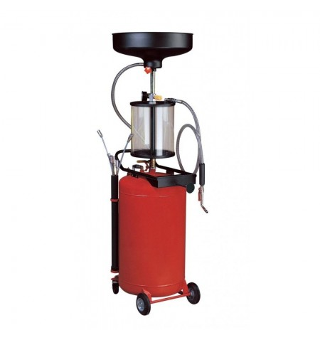Extractor de aceite por aspiración 80 Litros