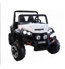 Coche eléctrico Malcor Jeep 4x4 con 4 motores!