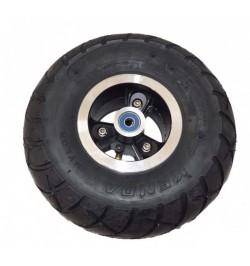 Rueda delantera 4'' con neumático kenda
