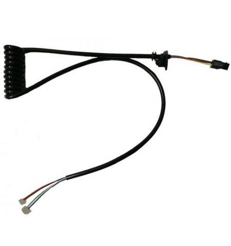 Cables del display a controladora 6 cables (Conector cuadrado)