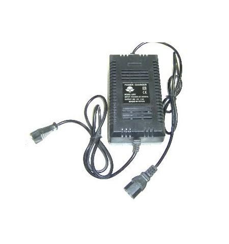 CARGADOR ELECTRICO 36V A 1,5A CONECTOR PC