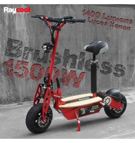Patinete Eléctrico Raycool Brushless 1500W (RESÉRVALO YA)